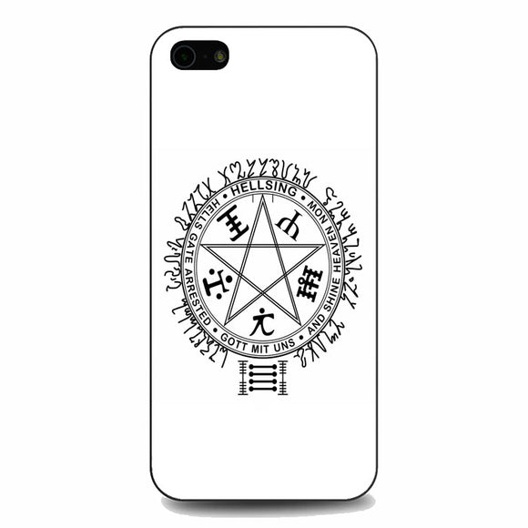 Hellsing Ultimate Logo iPhone 5|5S|SE Case | Babycasee