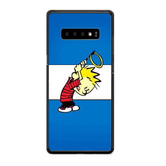 Calvin And Hobbes Samsung Galaxy S10 Case | Babycasee
