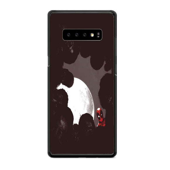 Deadpool Marvel Moon Night Zombie Superhero Samsung Galaxy S10 Case | Babycasee