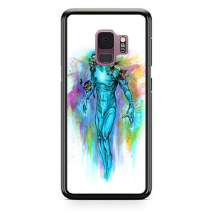 Old Dr Manhattan Carries Baby Watchmen Samsung Galaxy S9 Case | Babycasee