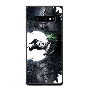 Maleficent 2 White Poster Samsung Galaxy S10 Case | Babycasee