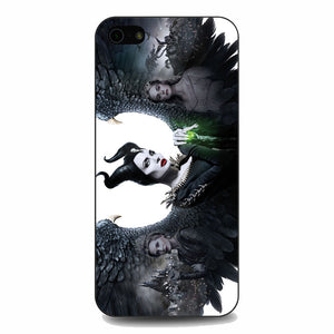Maleficent 2 White Poster iPhone 5|5S|SE Case | Babycasee