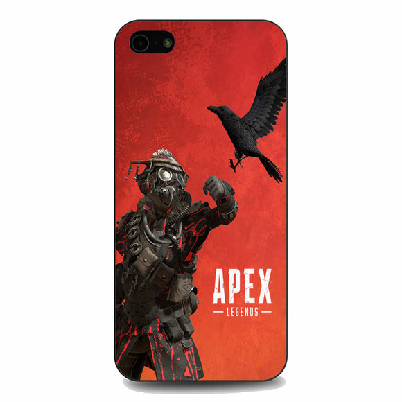 Apex Legends Bloodhound Red iPhone 5|5S|SE Case | Babycasee