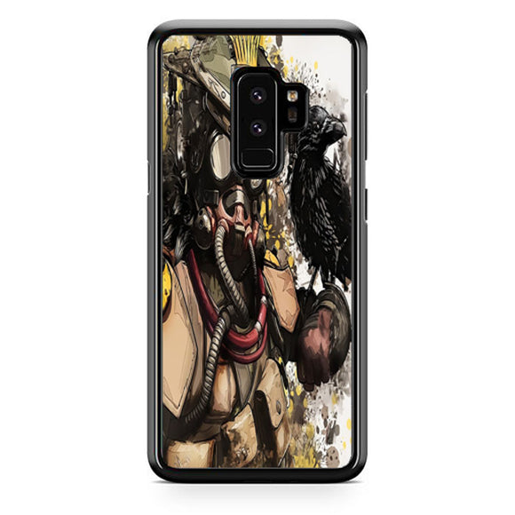 Apex Legends Bloodhound Digital Fanart Samsung Galaxy S9 Plus| Babycasee