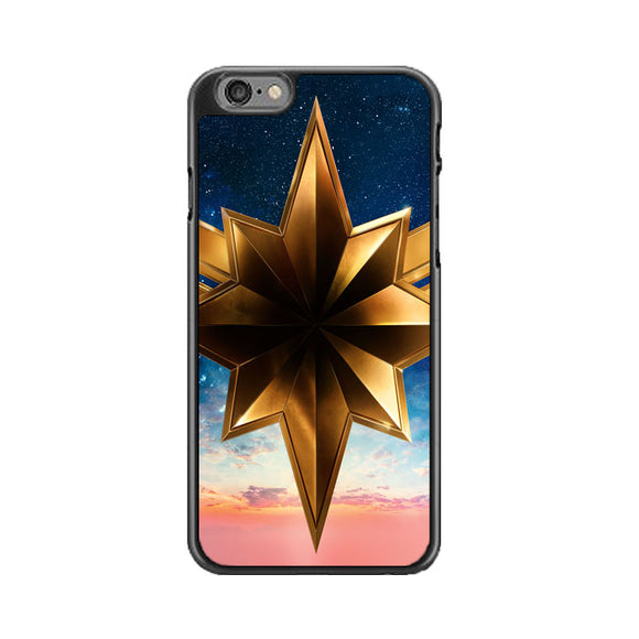 Captain Marvel Movie Logo Brie Larson iPhone 6|6S Case | Babycasee