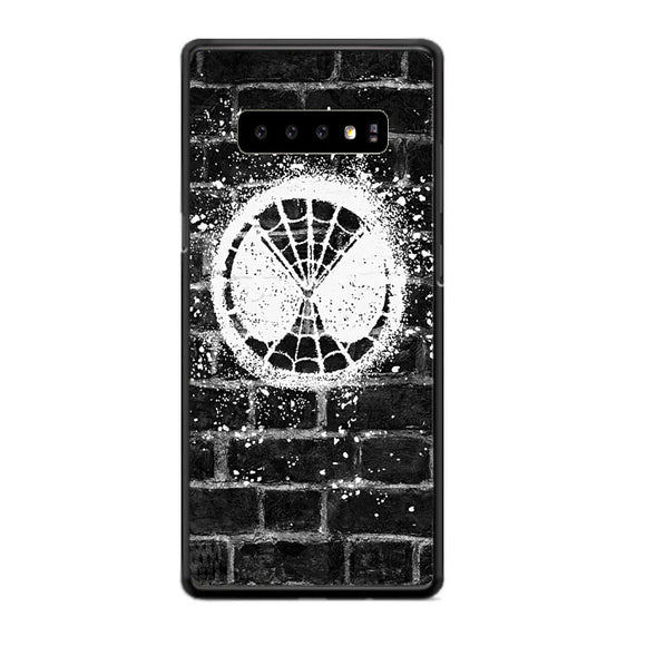 Spiderman Far From Home Logo Samsung Galaxy S10 Case | Babycasee