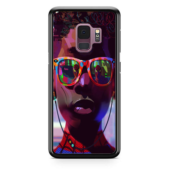 Miles Morales Sunglasses Spiderman Into The Spider Verse Aesthetics Samsung Galaxy S9 Case | Babycasee