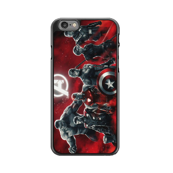 Avengers Endgame Characters Red iPhone 6 Plus|6S Plus Case | Babycasee