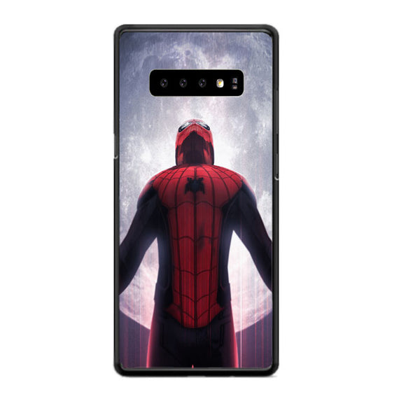 Spiderman Far From Home Jump Moon Samsung Galaxy S10 Plus Case | Babycasee