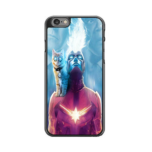 Captain Marvel Goose The Cat iPhone 6|6S Case | Babycasee