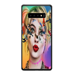 Birds Of Prey Harley Quinn Margot Robbie Movie Characters Poster Samsung Galaxy S10e Case | Babycasee