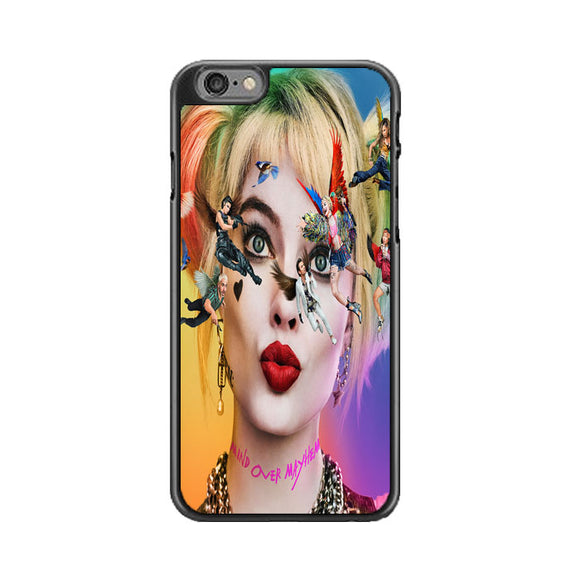 Birds Of Prey Harley Quinn Margot Robbie Movie Characters Poster iPhone 6|6S Case | Babycasee