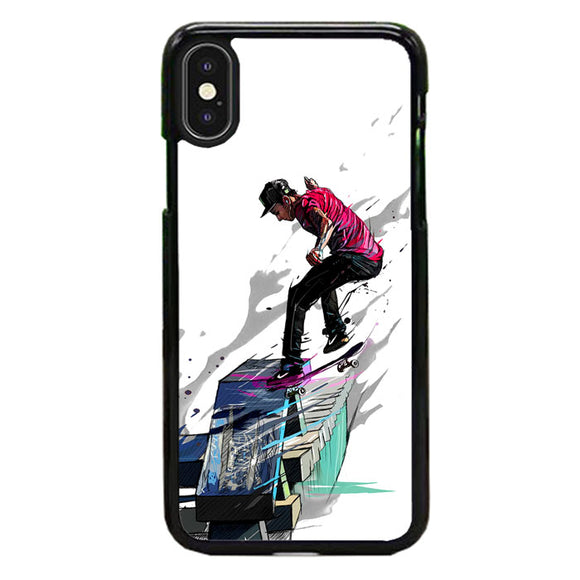 Play Skateboarding Nyjah Huston iPhone X Case | Babycase