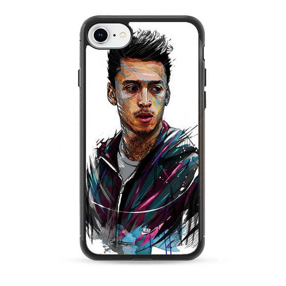 Skateboarding Nyjah Huston iPhone 8 Case | Babycase