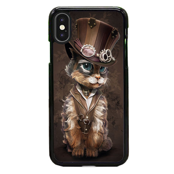 Cat Steampunk Art iPhone XS Max Case | Babycase