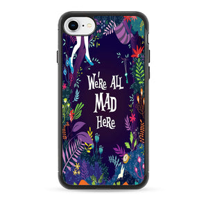 Alice We'Re All Mad Here iPhone 8 Case | Babycase