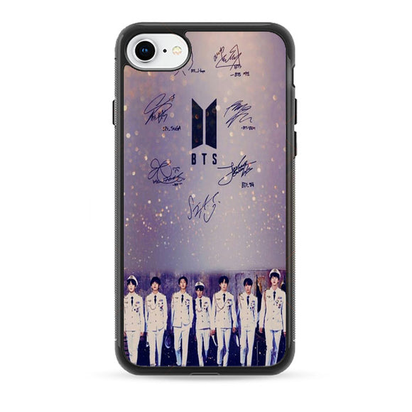 Bts Pilot Signature Photo iPhone 8 Case | Babycase