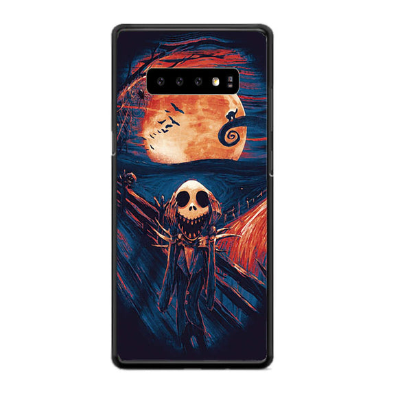 The Scream Nightmare Before Christmas Samsung Galaxy S10 Case | Babycase