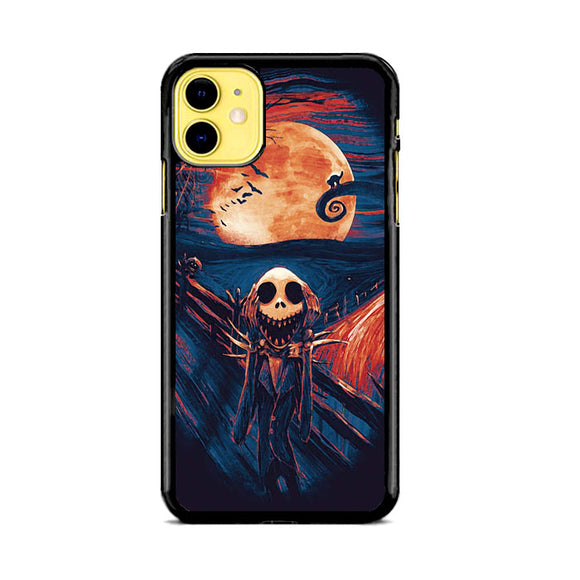 The Scream Nightmare Before Christmas iPhone 11 Case | Babycase