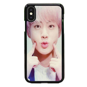 Bts Jin Cute Wallpaper iPhone XS Max Case | Babycase