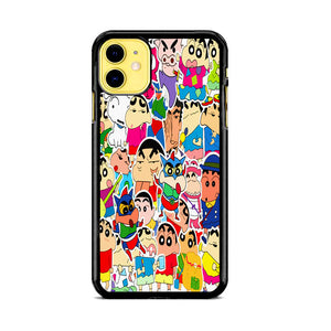 Cute Crayon Shin Chan Collage iPhone 11 Case | Babycase