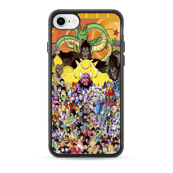 Dragon Ball Z All Characters iPhone 8 Case | Babycase
