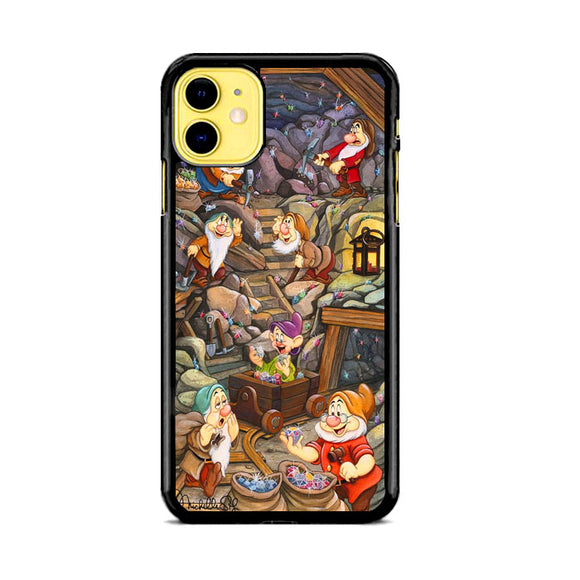 Michelle St Laurent Disney Snow White And Seven Dwarf iPhone 11 Case | Babycase