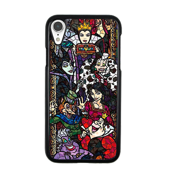 Disney Villains Satined Glass Mosaik iPhone XR Case | Babycase