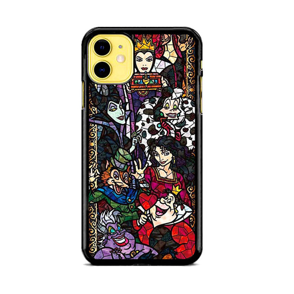 Disney Villains Satined Glass Mosaik iPhone 11 Case | Babycase