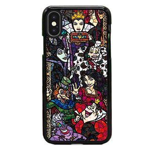Disney Villains Satined Glass Mosaik iPhone XS Max Case | Babycase