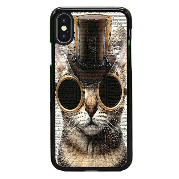 Steampunk Cat Vintage iPhone XS Max Case | Babycase
