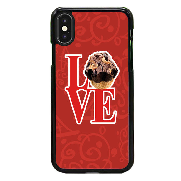 Love Cold Stone Creamery iPhone XS Max Case | Babycase