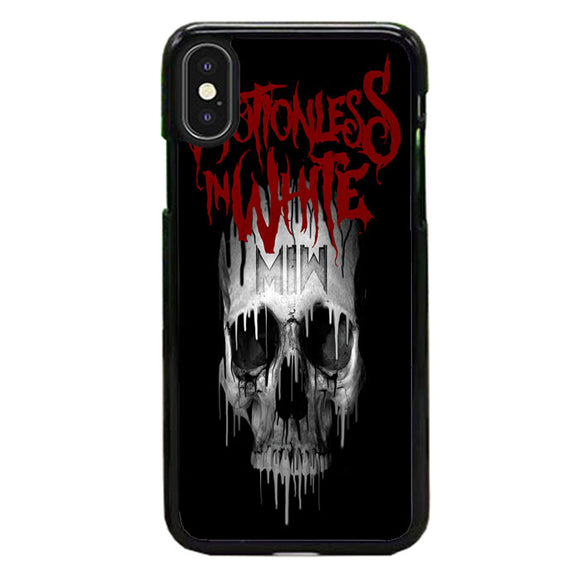 Motionless In White Skull iPhone X Case | Babycase