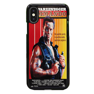 Schwarzenegger Commando iPhone XS Max Case | Babycasee