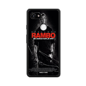 Sylvester Stallone Rambo Last Blood Google Pixel 2 Case | Babycasee