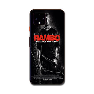 Sylvester Stallone Rambo Last Blood Google Pixel 4 Case | Babycasee