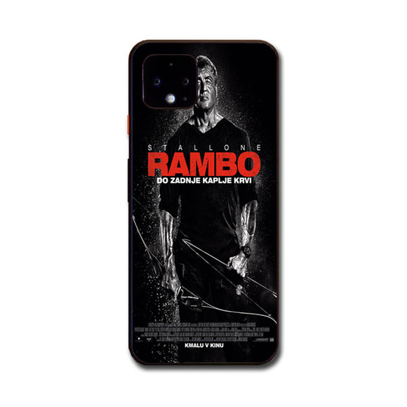 Sylvester Stallone Rambo Last Blood Google Pixel 4 XL Case | Babycasee
