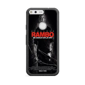 Sylvester Stallone Rambo Last Blood Google Pixel XL Case | Babycasee