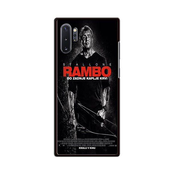 Sylvester Stallone Rambo Last Blood Samsung Galaxy Note 10 Plus Case | Babycasee