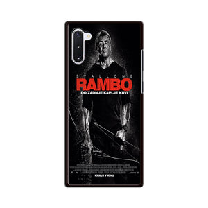 Sylvester Stallone Rambo Last Blood Samsung Galaxy Note 10 Case | Babycasee
