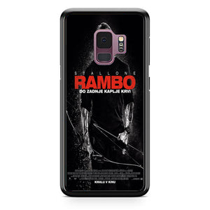 Sylvester Stallone Rambo Last Blood Samsung Galaxy S9 Case | Babycasee