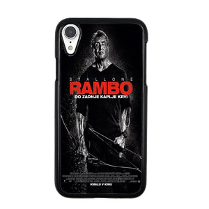 Sylvester Stallone Rambo Last Blood iPhone XR Case | Babycasee