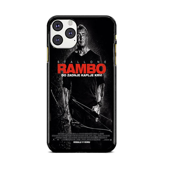 Sylvester Stallone Rambo Last Blood iPhone 11 Pro Max Case | Babycasee
