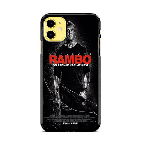 Sylvester Stallone Rambo Last Blood iPhone 11 Case | Babycasee