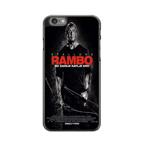 Sylvester Stallone Rambo Last Blood iPhone 6 Plus|6S Plus Case | Babycasee