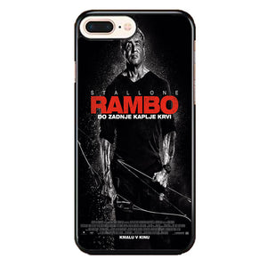 Sylvester Stallone Rambo Last Blood iPhone 7 Plus Case | Babycasee