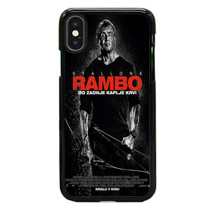 Sylvester Stallone Rambo Last Blood iPhone XS Case | Babycasee