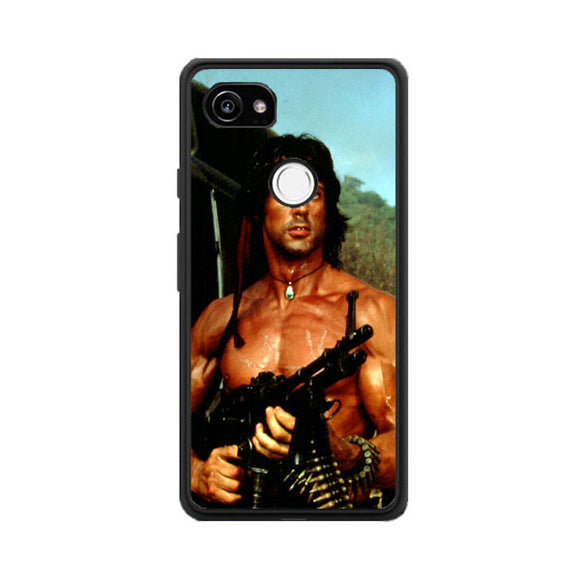 Sylvester Stallone Story Notes For Rambo Google Pixel 2 XL Case | Babycasee