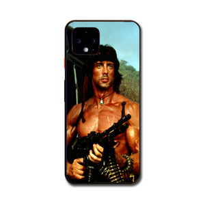 Sylvester Stallone Story Notes For Rambo Google Pixel 4 Case | Babycasee