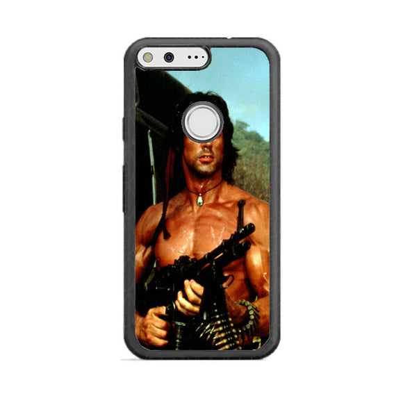 Sylvester Stallone Story Notes For Rambo Google Pixel Case | Babycasee